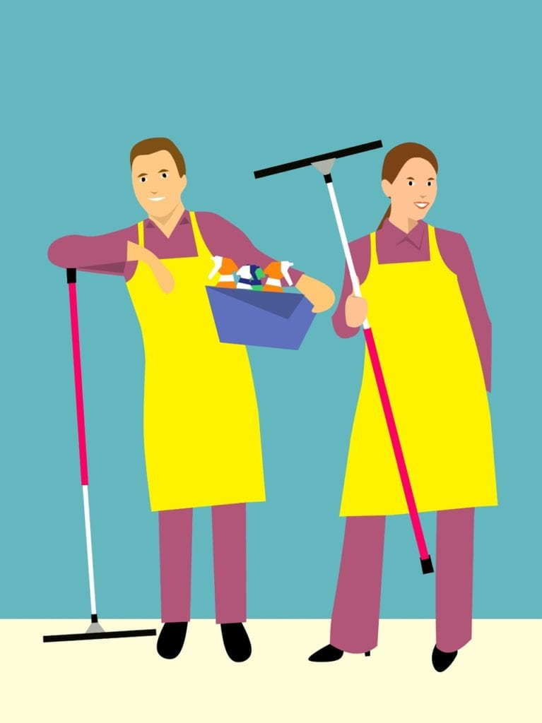 Consider starting a cleaning service business